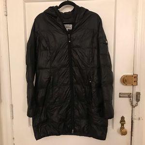 Eddie Bauer | down jacket | black large